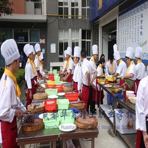 2018年成都学中西餐制作专业到成都厨师职业学校