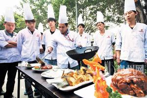 学厨师就到成都烹饪学校!